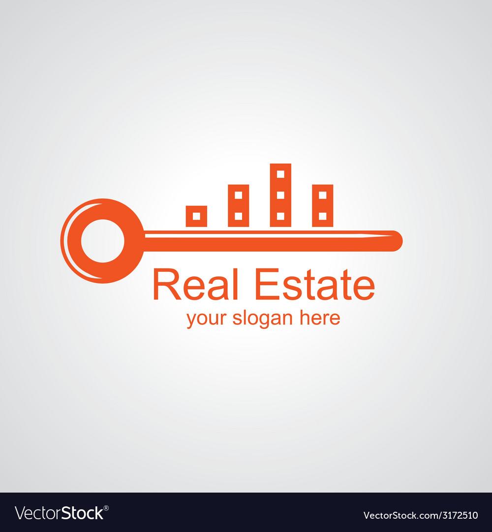 Real estate logo vector | Price: 1 Credit (USD $1)