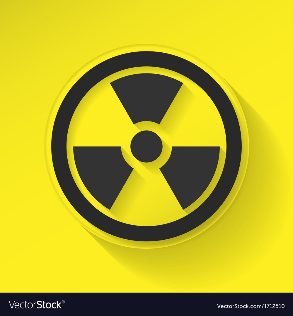 Sign radiation vector | Price: 1 Credit (USD $1)