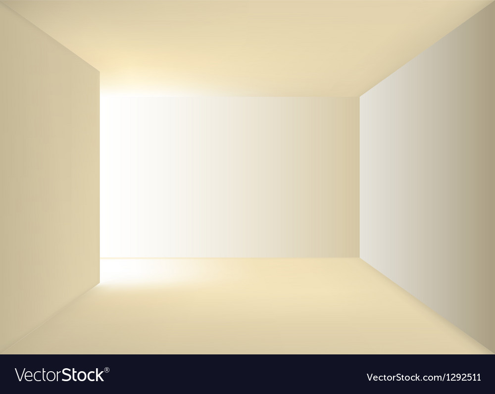 Empty corridor vector | Price: 1 Credit (USD $1)