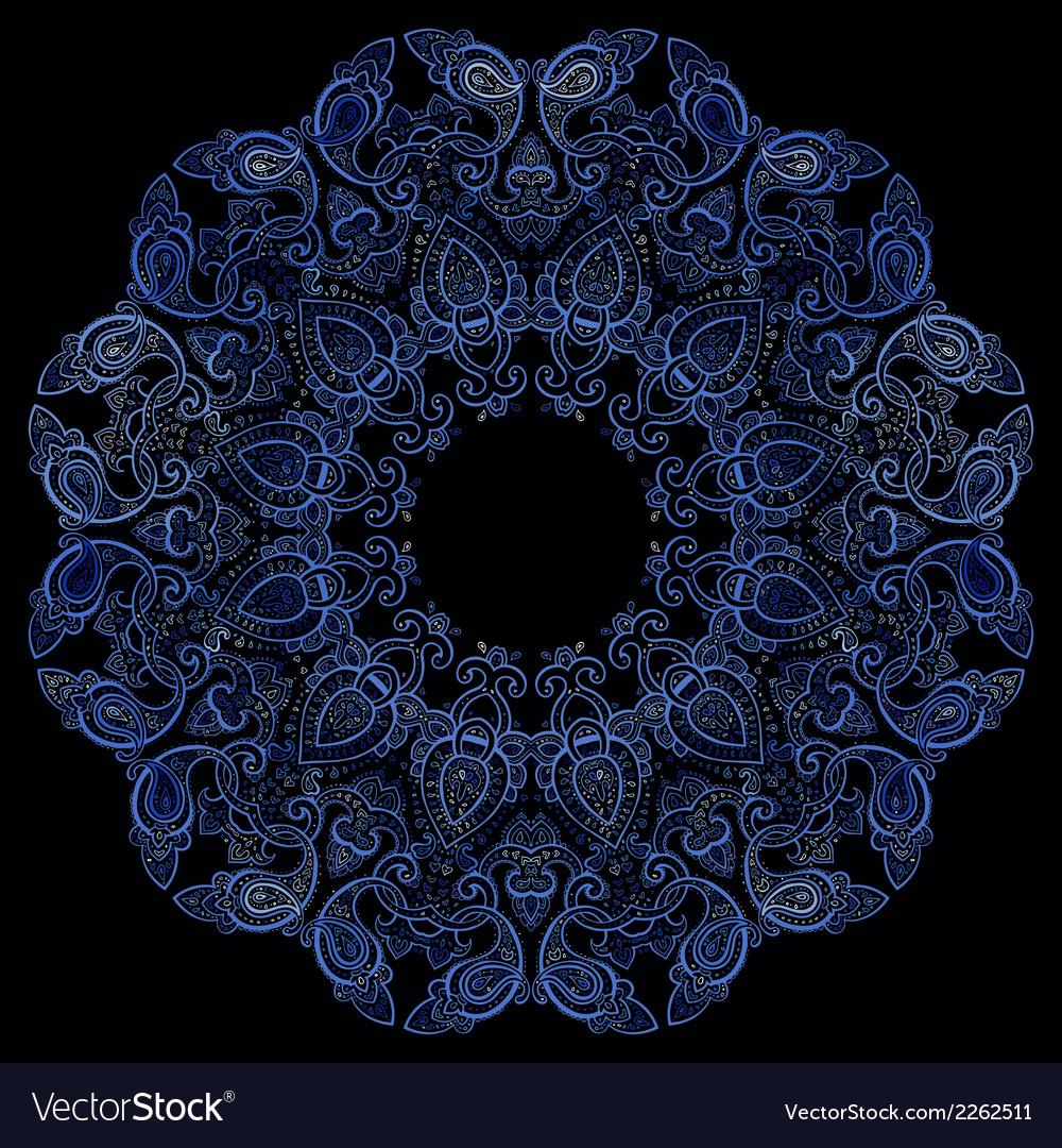 Lace background mandala vector | Price: 1 Credit (USD $1)