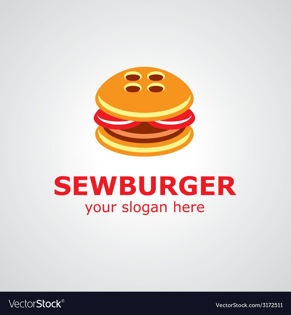 Sewburger logo vector | Price: 1 Credit (USD $1)