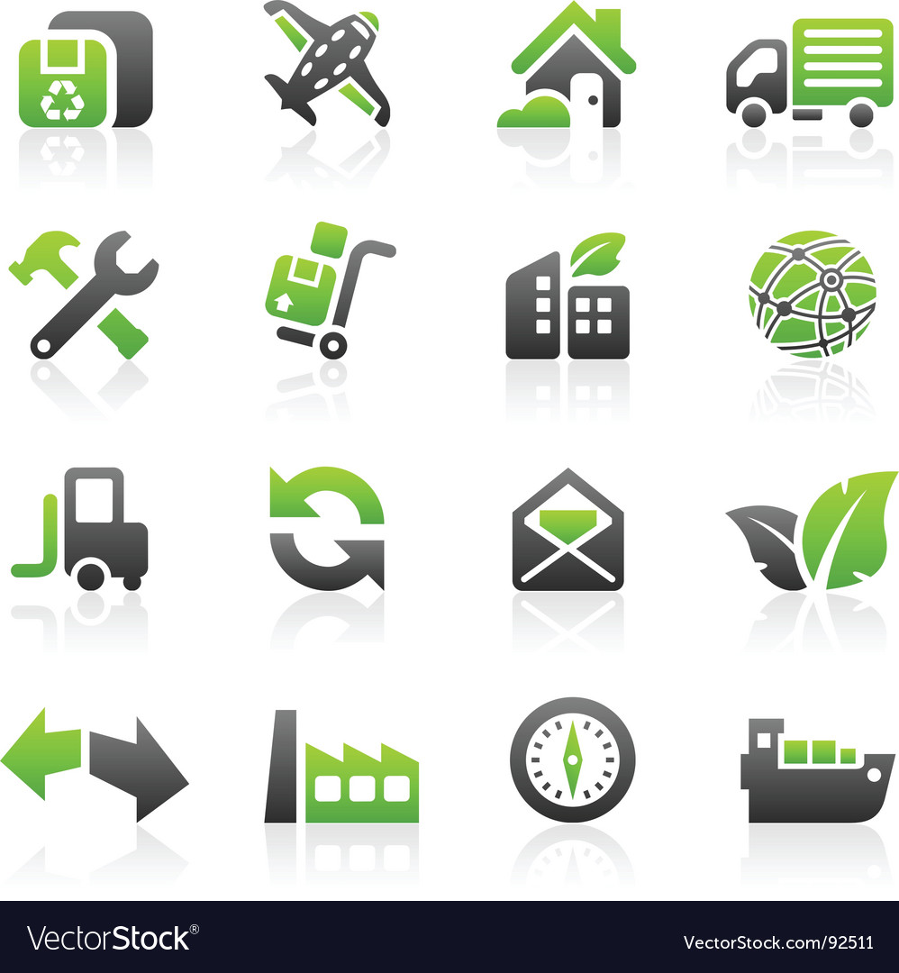Shipping icons vector | Price: 3 Credit (USD $3)