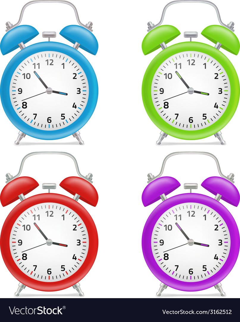 Alarm clock vector | Price: 1 Credit (USD $1)