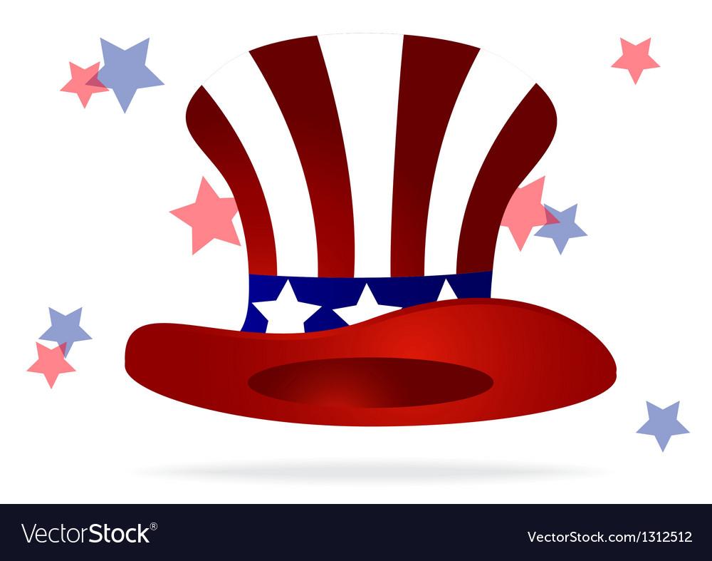 American top hat vector | Price: 1 Credit (USD $1)