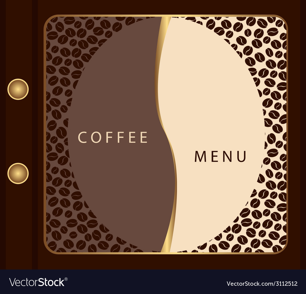 Coffee menu template vector | Price: 1 Credit (USD $1)