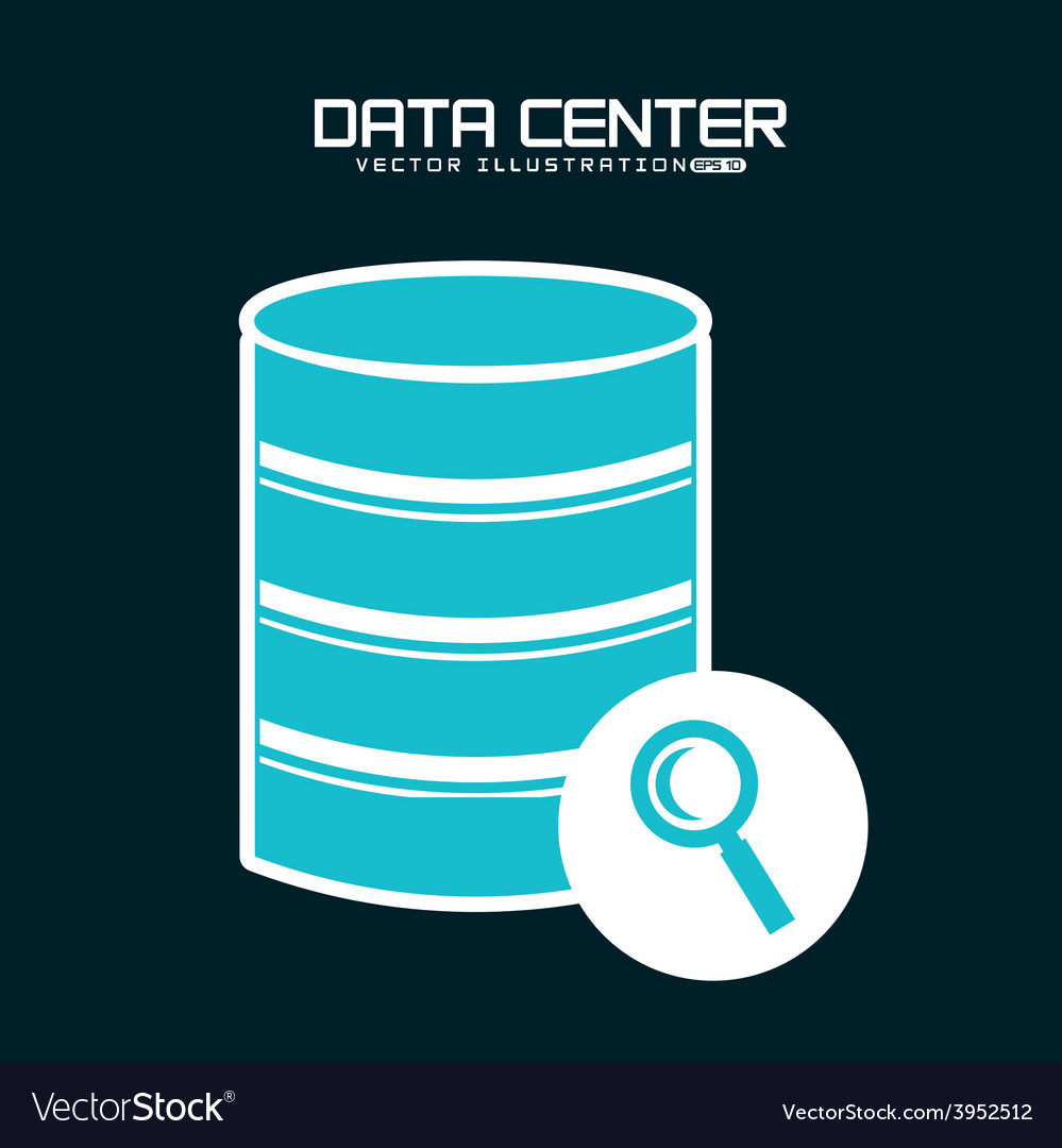Data center vector | Price: 1 Credit (USD $1)