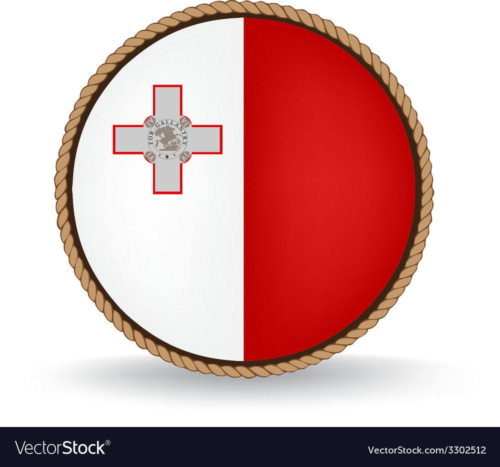 Malta seal vector | Price: 1 Credit (USD $1)