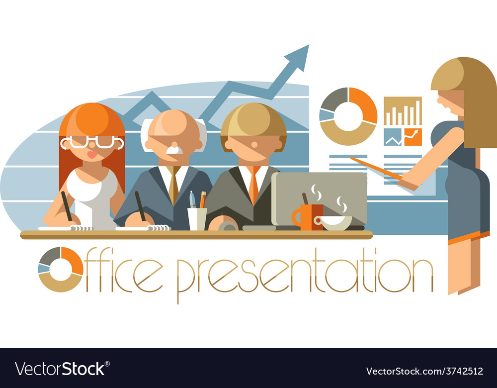 Office presentation vector | Price: 3 Credit (USD $3)