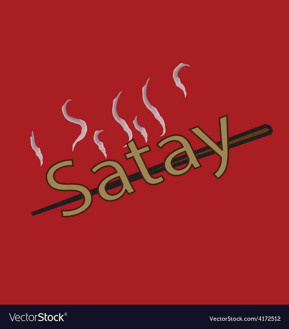 Satay vector   Price: 1 Credit (USD $1)