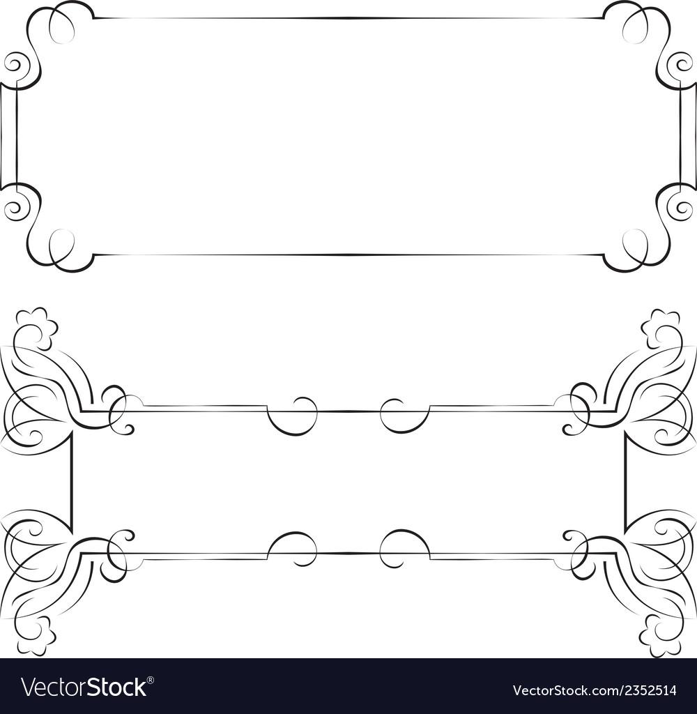 Set frames for design vector   Price: 1 Credit (USD $1)