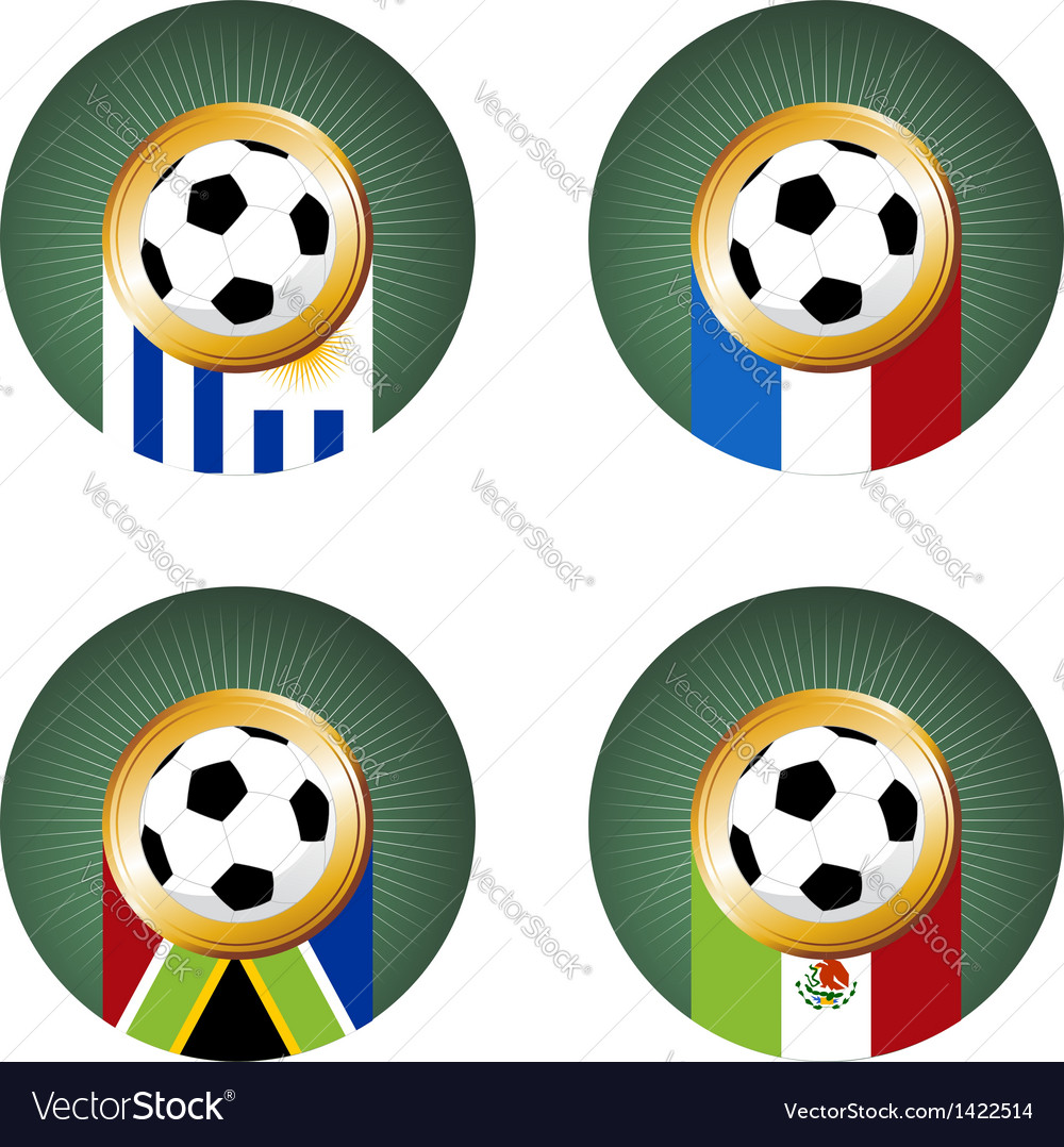 Soccer cup team group vector   Price: 1 Credit (USD $1)