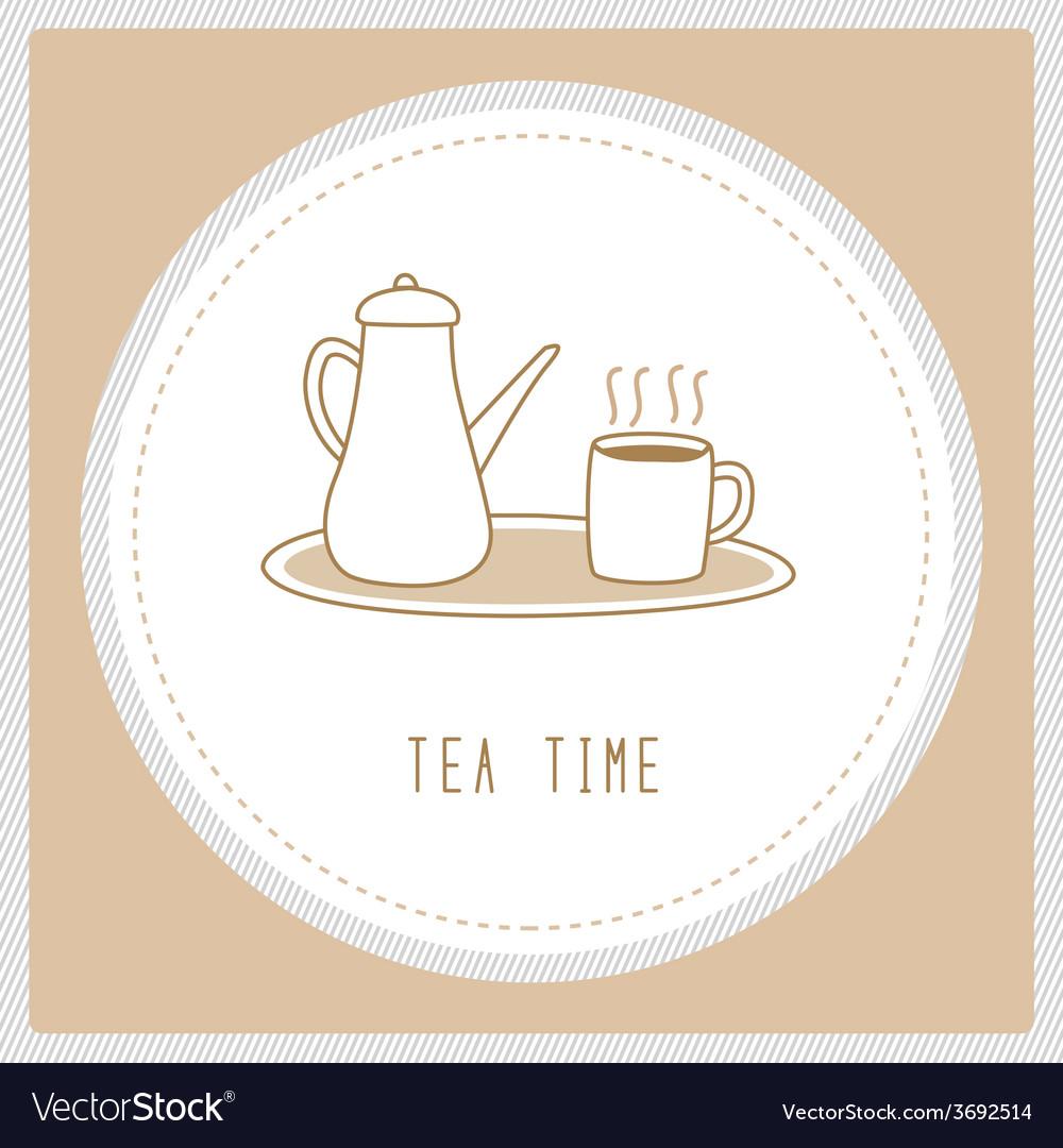 Tea time4 vector   Price: 1 Credit (USD $1)