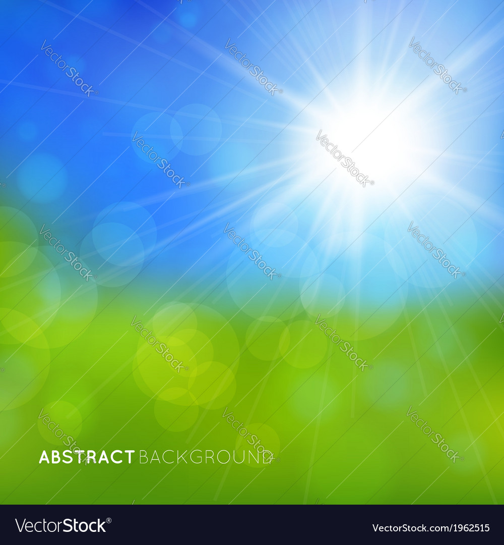 Abstract background with bright effects vector | Price: 1 Credit (USD $1)