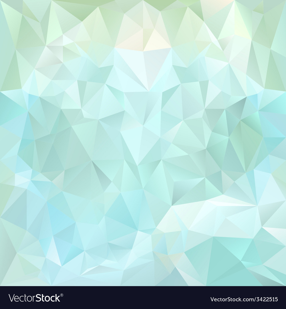 Ice blue polygonal triangular pattern background vector | Price: 1 Credit (USD $1)