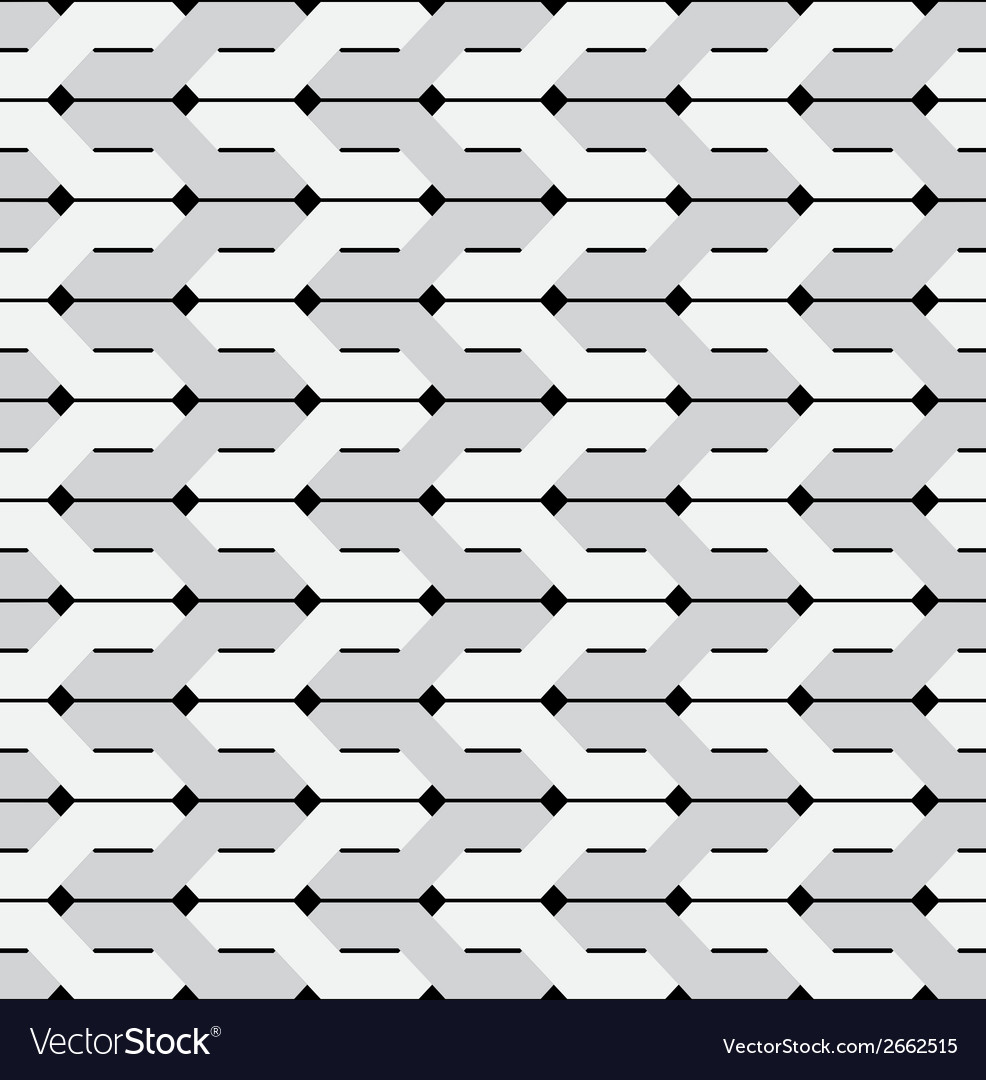 Intertwined stripes seamless background vector | Price: 1 Credit (USD $1)