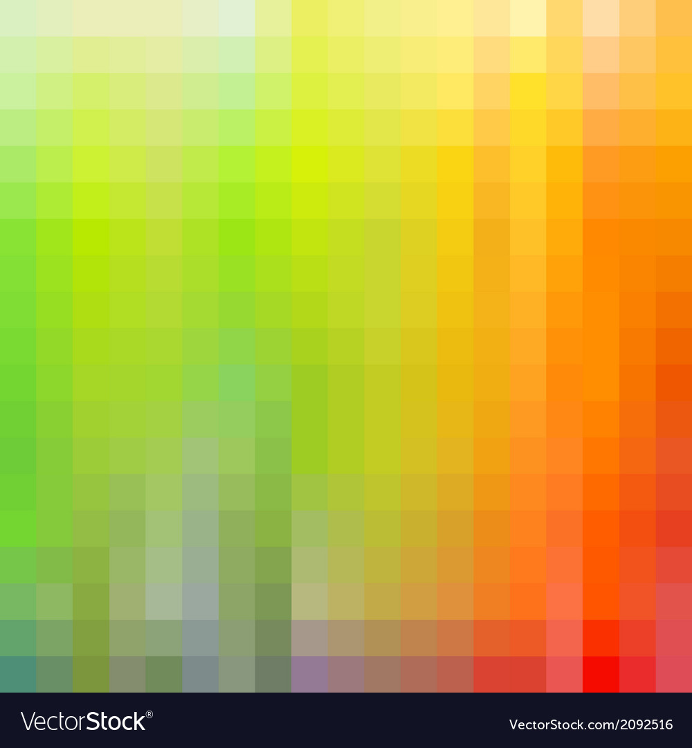 Colorful rainbow mosaic background vector | Price: 1 Credit (USD $1)