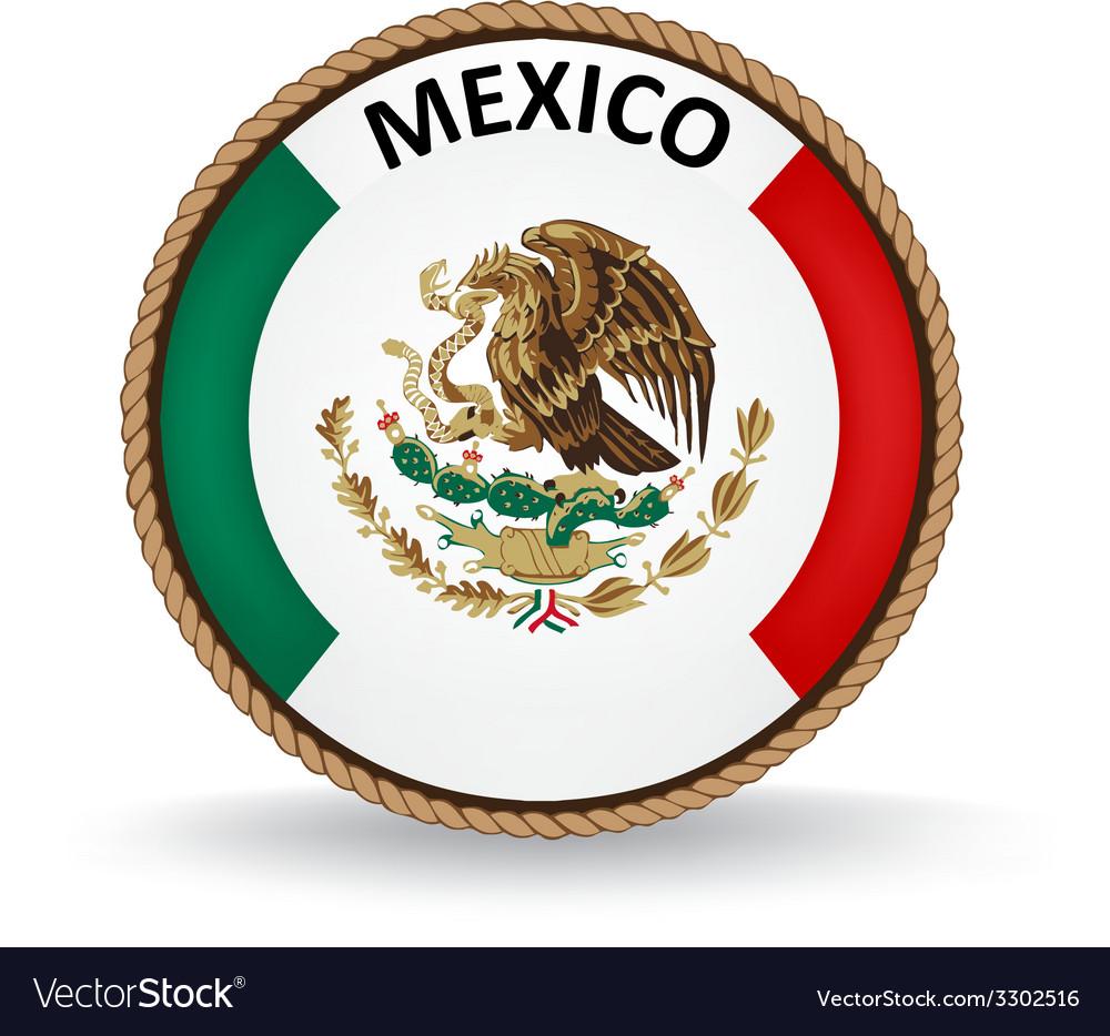 Mexico seal vector | Price: 1 Credit (USD $1)