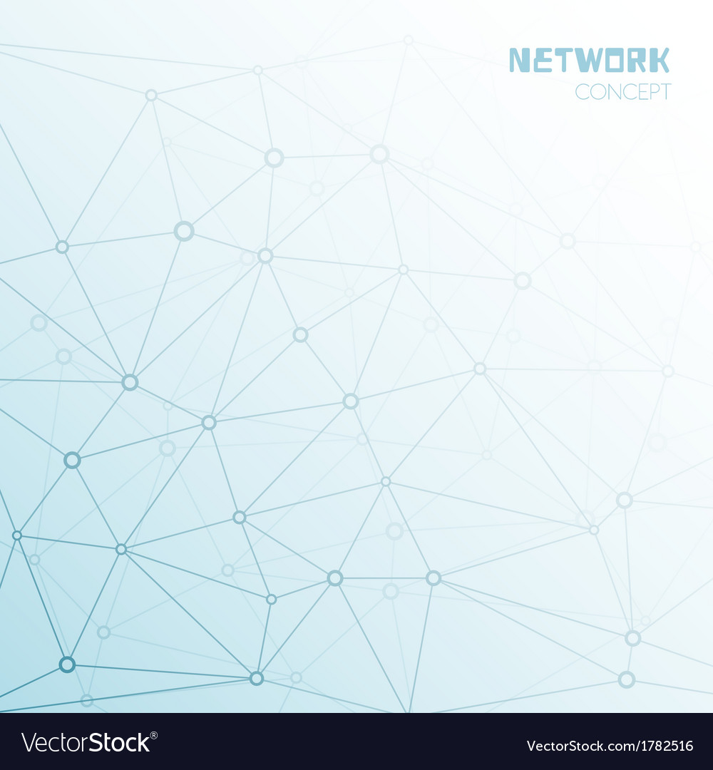 Social or technology network background vector | Price: 1 Credit (USD $1)