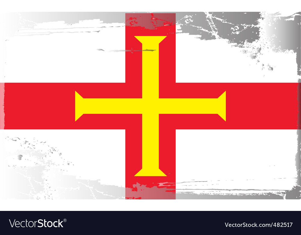 Guernsey national flag vector   Price: 1 Credit (USD $1)