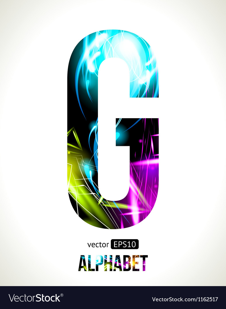 Letter g vector   Price: 1 Credit (USD $1)