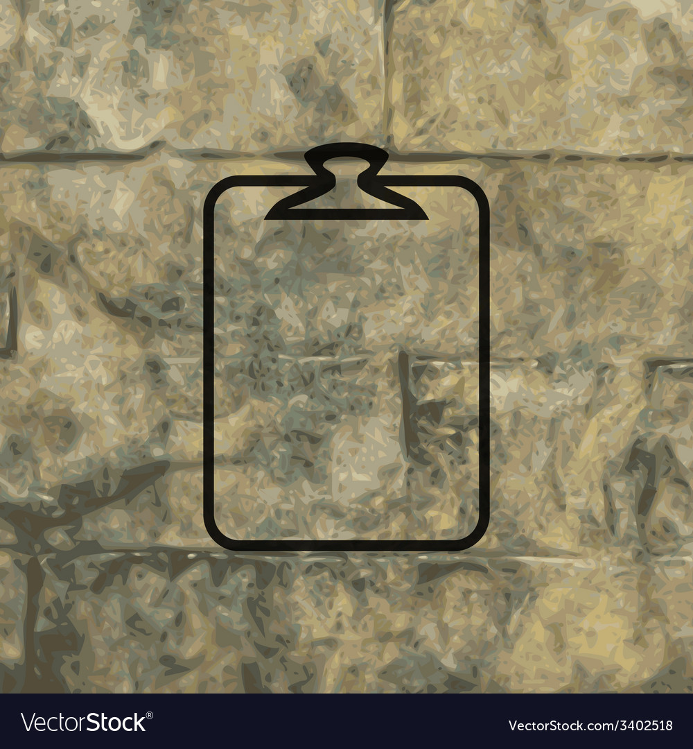 Paper clip icon symbol flat modern web design with vector | Price: 1 Credit (USD $1)