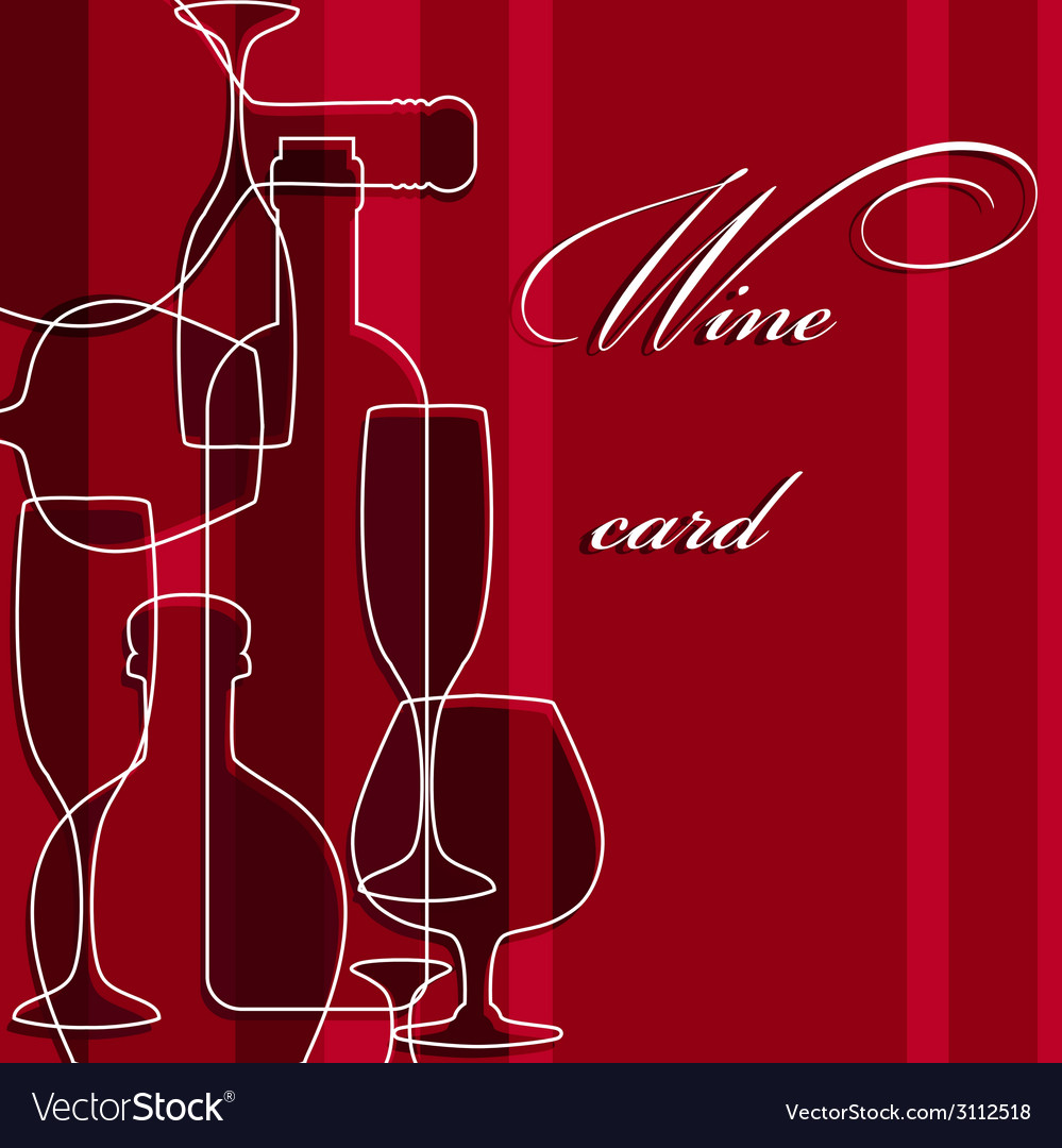 Template of alcohol card vector   Price: 1 Credit (USD $1)