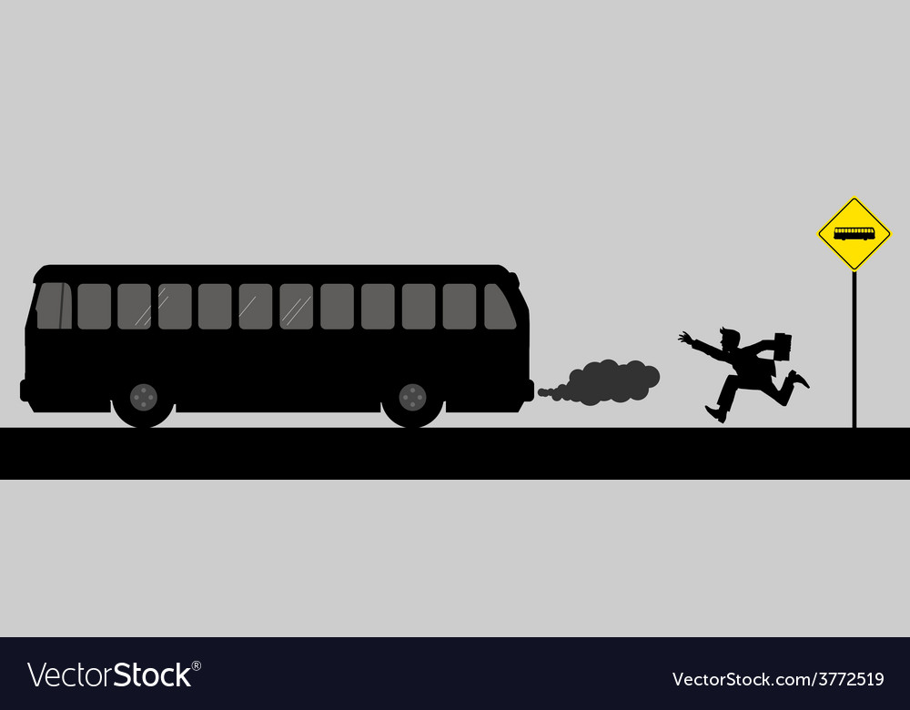 Chasing the bus vector | Price: 1 Credit (USD $1)