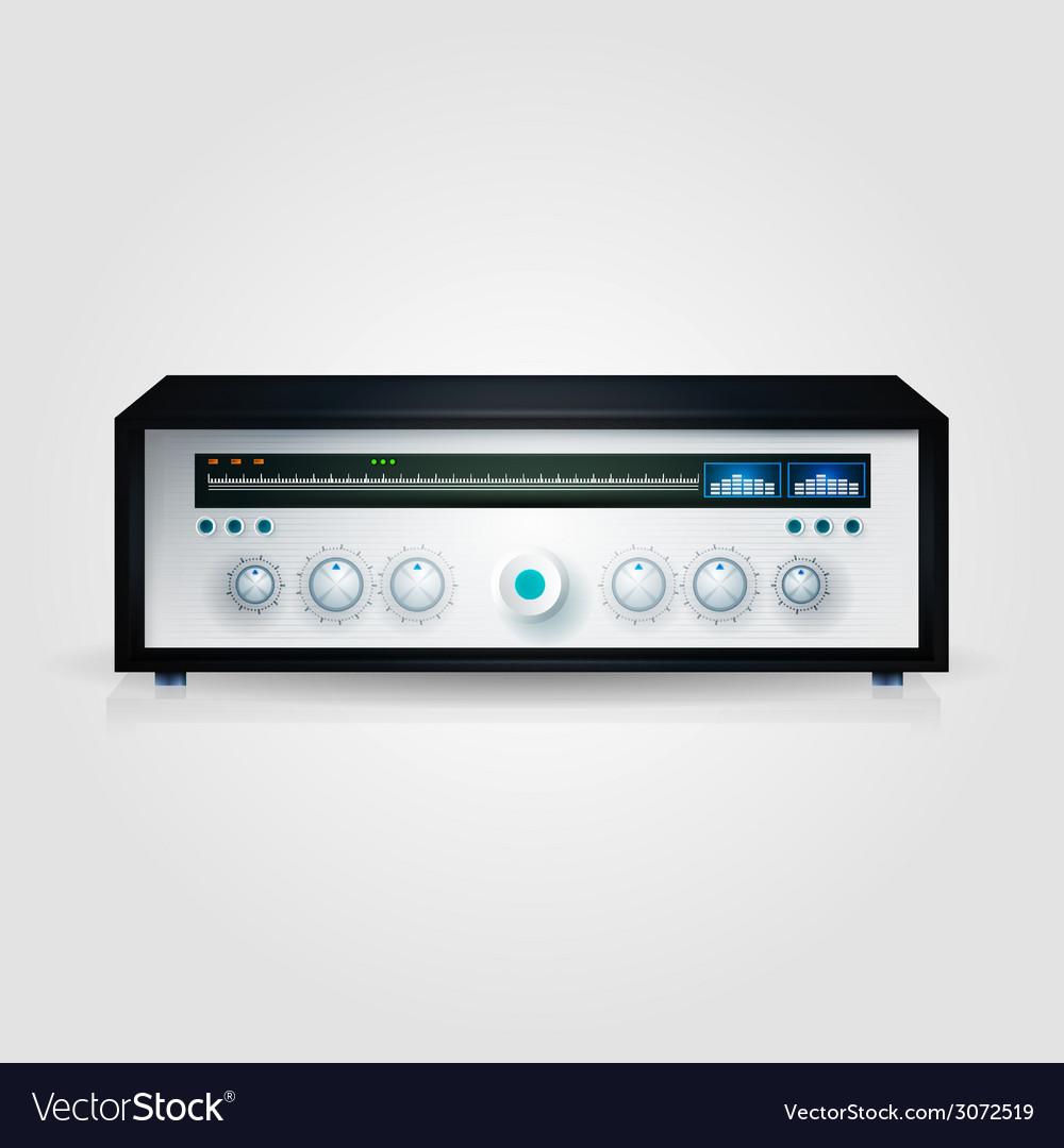 Modern radio vector | Price: 1 Credit (USD $1)