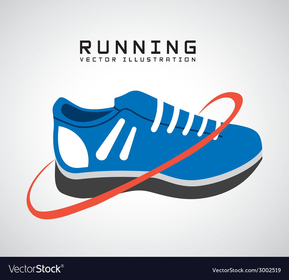 Running lifestyle design vector | Price: 1 Credit (USD $1)