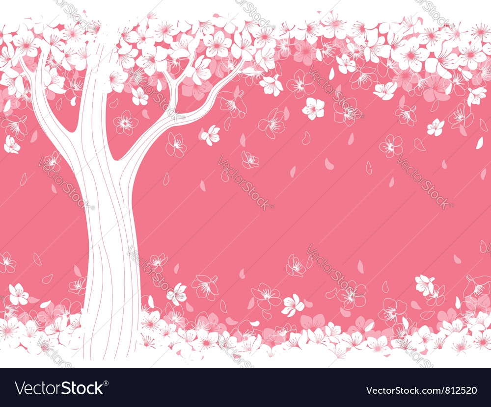 Blossom tree vector | Price: 1 Credit (USD $1)