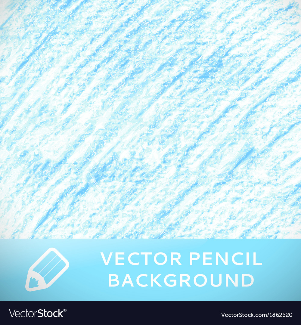 Blue pencil sketch background pattern vector