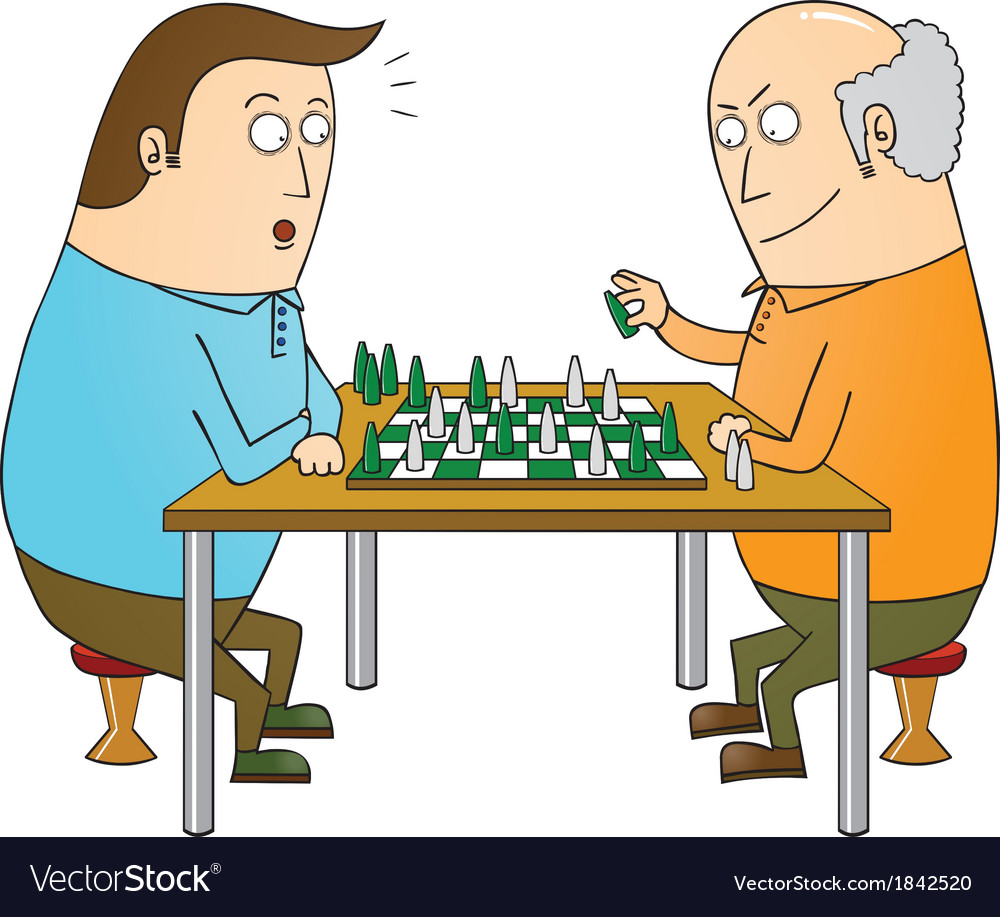 Chess master vector | Price: 1 Credit (USD $1)