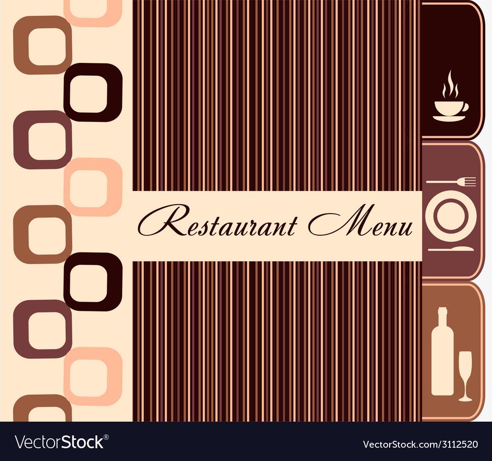 Template of restaurant menu vector | Price: 1 Credit (USD $1)