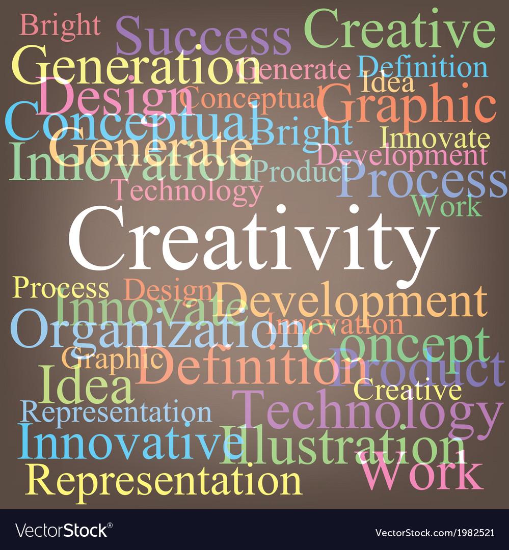 Creativity vector | Price: 1 Credit (USD $1)