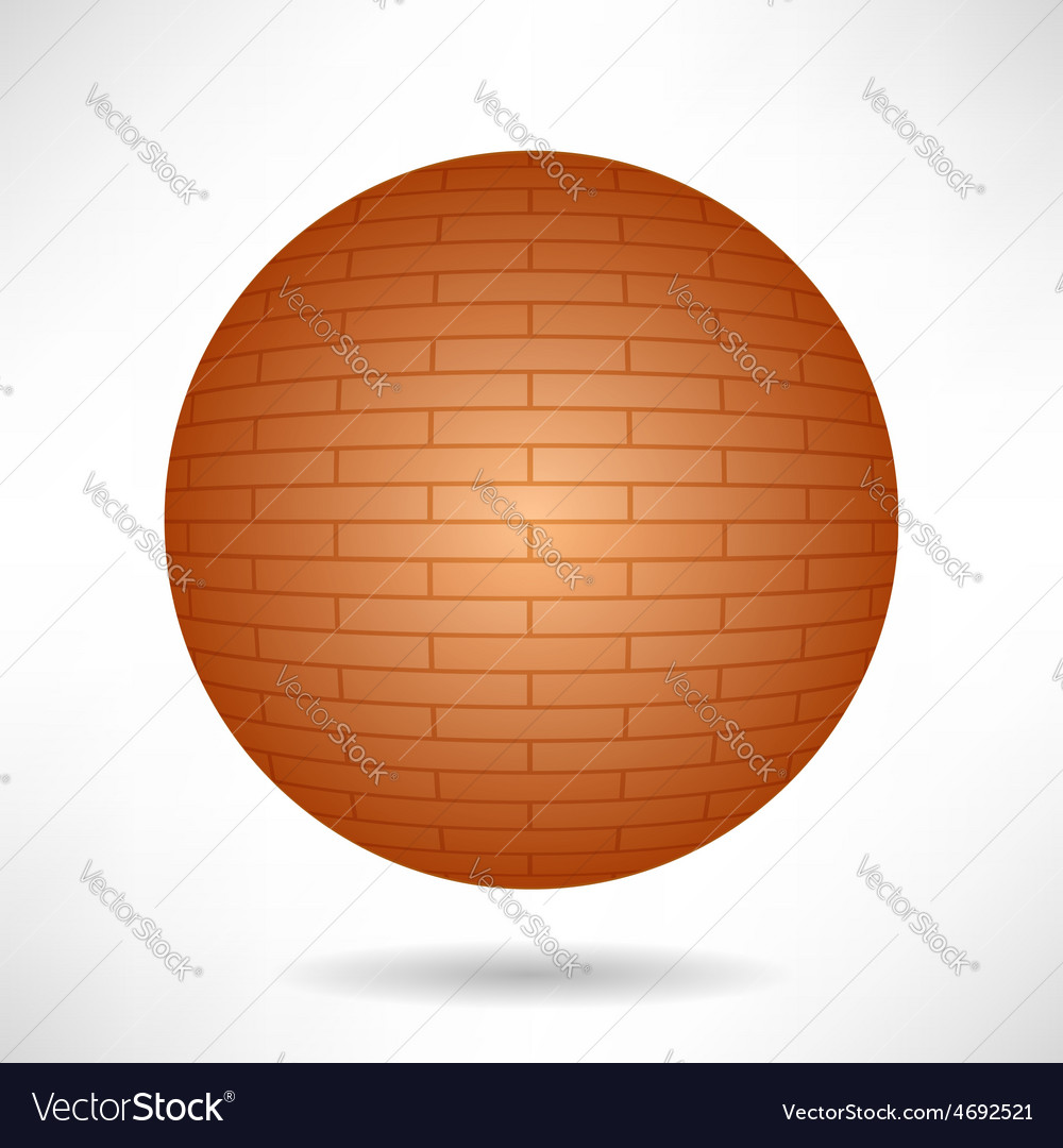Red sphere vector | Price: 1 Credit (USD $1)