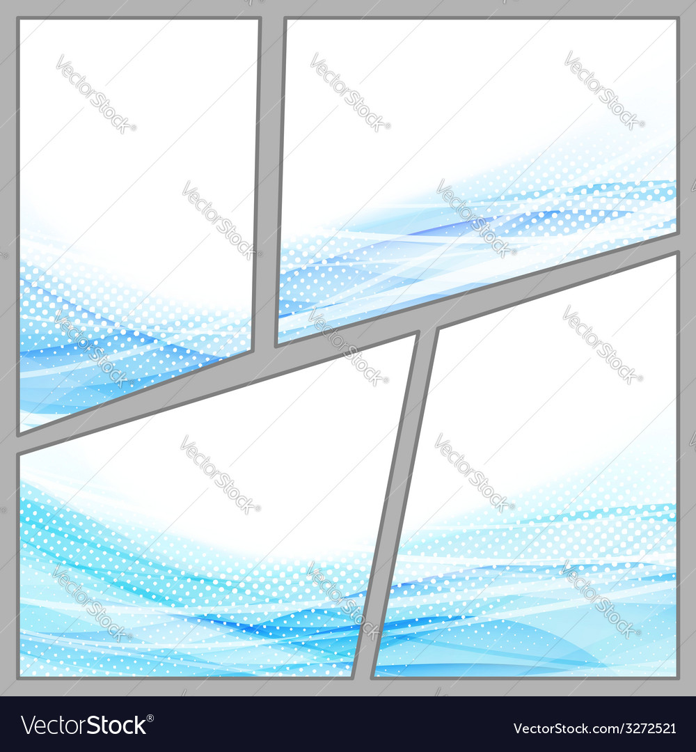 Transparent dotted blue background page vector | Price: 1 Credit (USD $1)