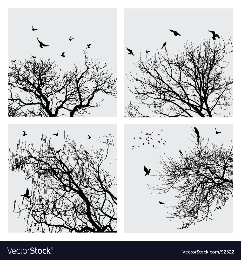 Branch collection vector | Price: 1 Credit (USD $1)