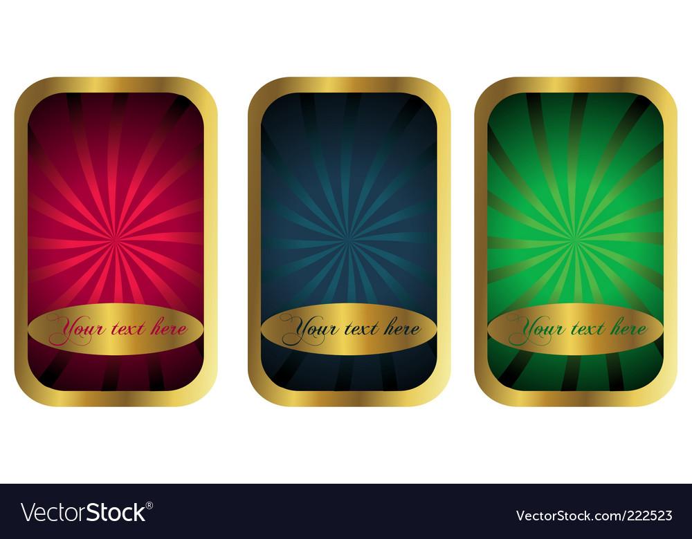 Golden ornaments vector   Price: 1 Credit (USD $1)