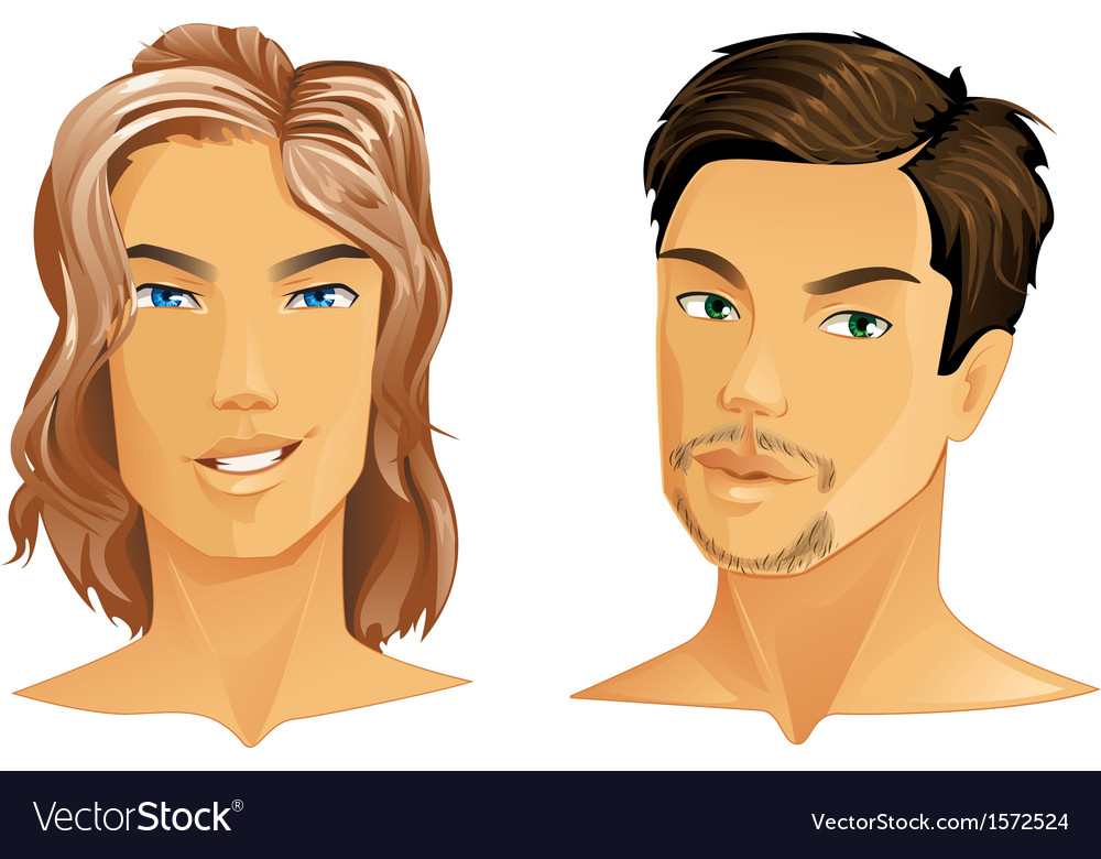 Male portrait vector | Price: 1 Credit (USD $1)