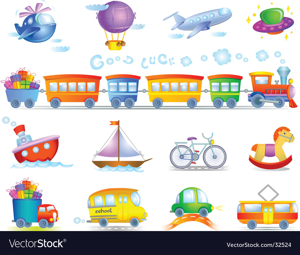 Types of transport vector | Price: 3 Credit (USD $3)
