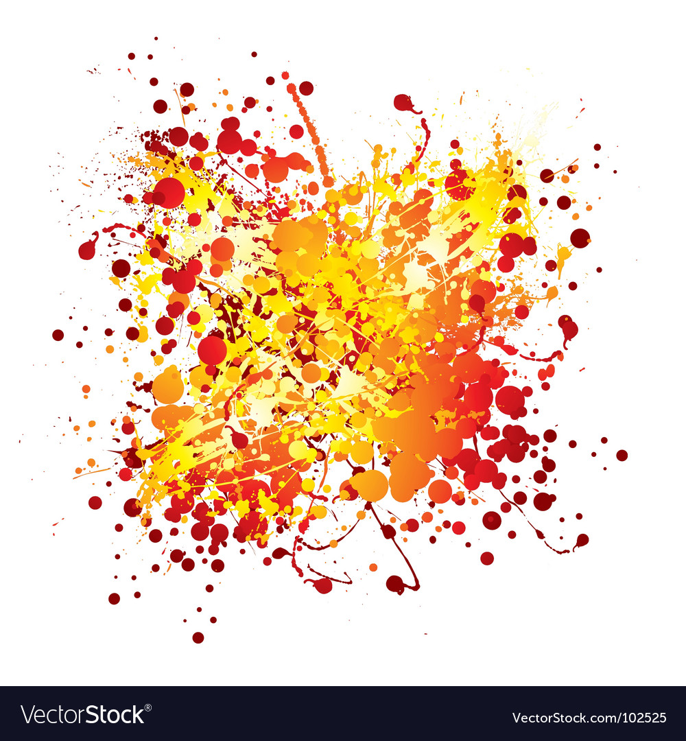 Ink splat design vector | Price: 1 Credit (USD $1)