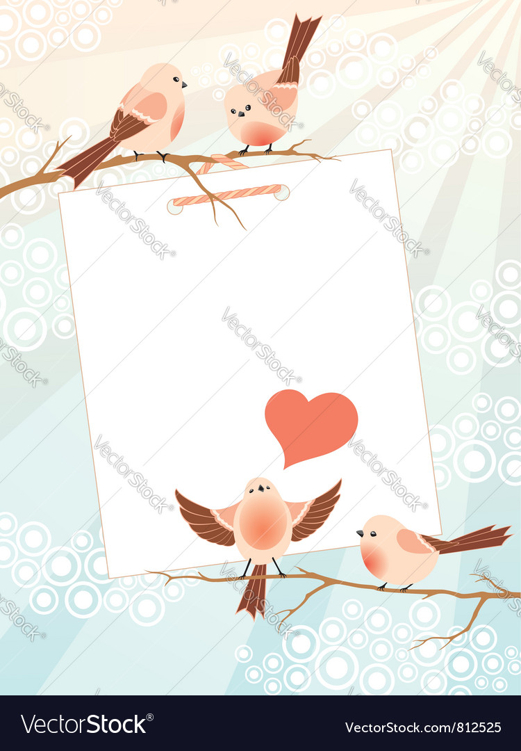 Love song frame vector | Price: 3 Credit (USD $3)