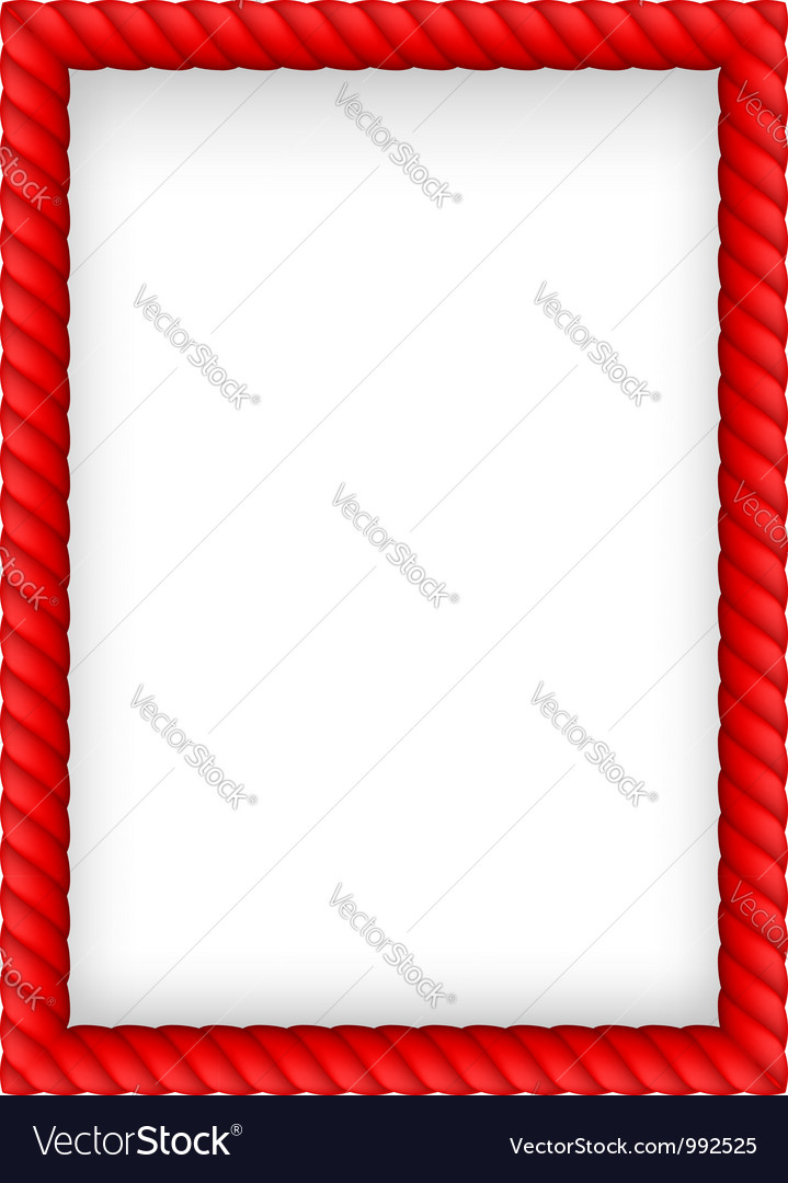 Rope border vector | Price: 1 Credit (USD $1)
