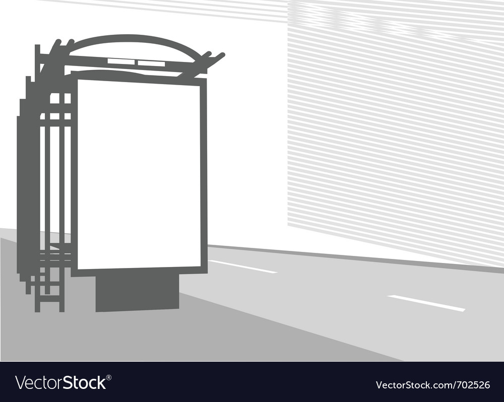 City billboard vector | Price: 1 Credit (USD $1)