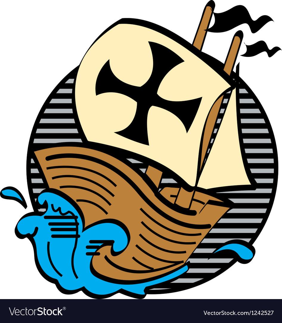Mayflower boat vector   Price: 1 Credit (USD $1)