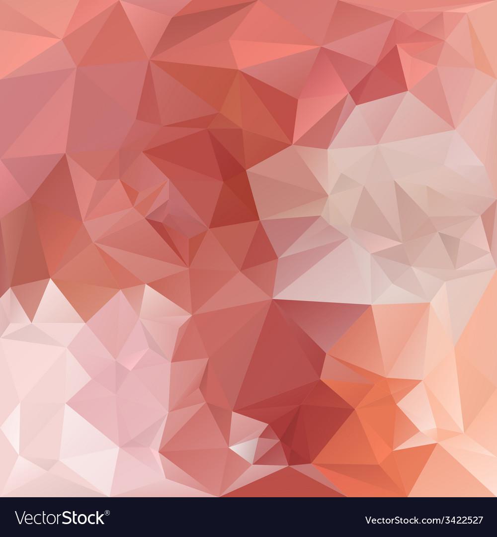 Opal orange polygonal triangular pattern vector | Price: 1 Credit (USD $1)