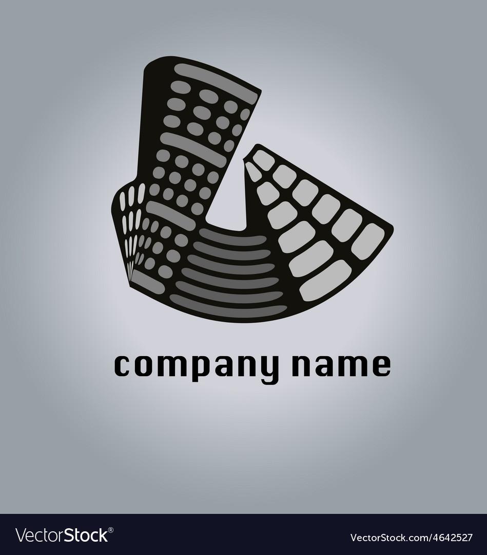 Real estate property logo icon buildings vector | Price: 1 Credit (USD $1)
