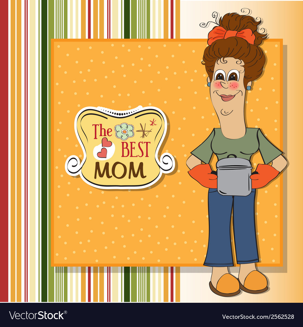 Best mom vector | Price: 1 Credit (USD $1)