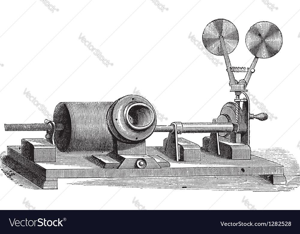 Gramophone vintage engraving vector | Price: 1 Credit (USD $1)