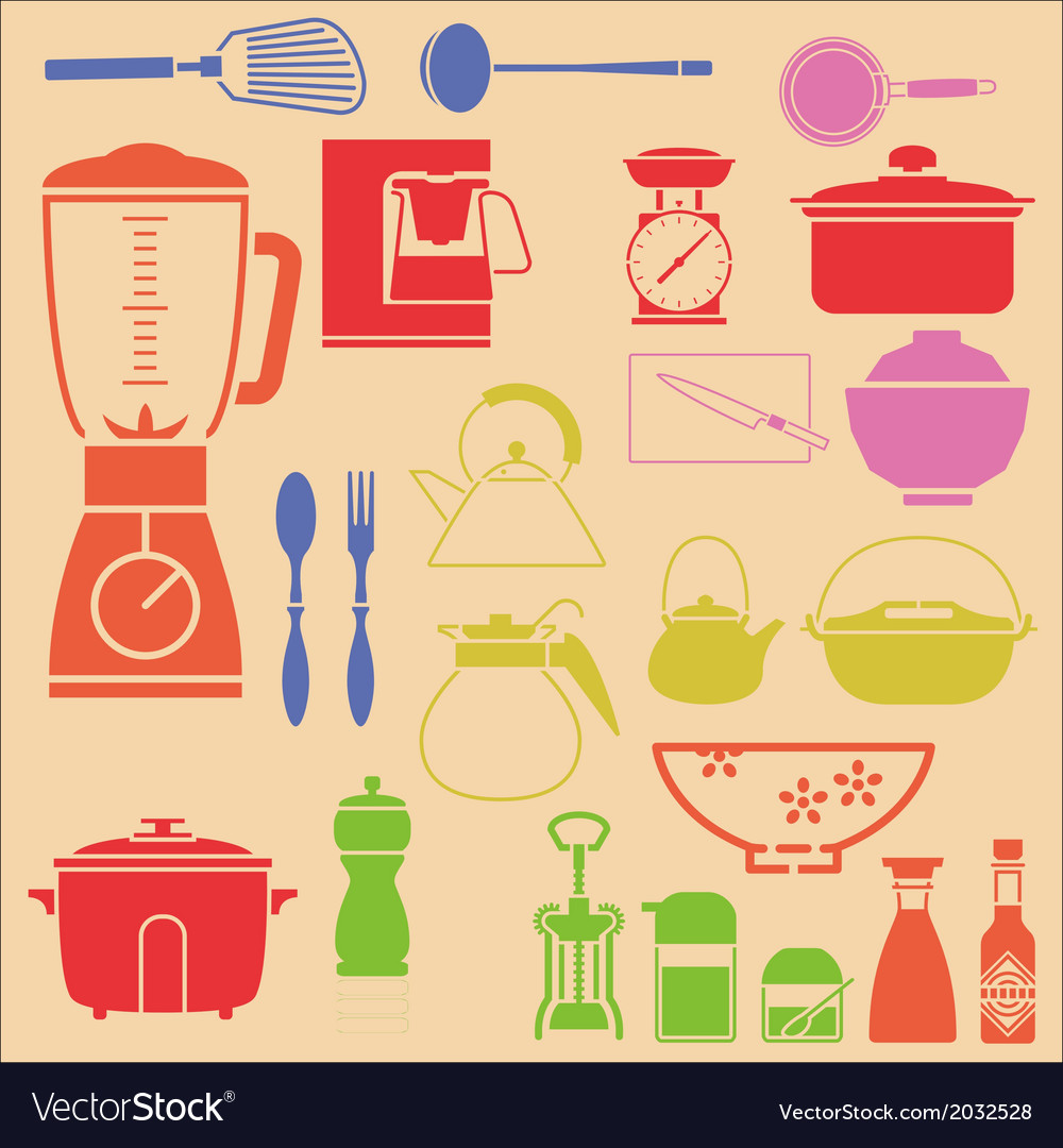 Kitchenset vector | Price: 1 Credit (USD $1)